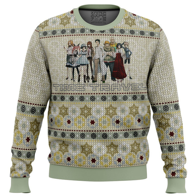 The Elite Team Steins Gate Premium Ugly Christmas Sweater