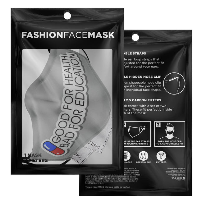 The Pill Akira Premium Carbon Filter Face Mask