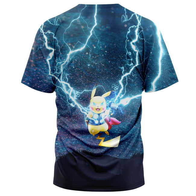 Thor Pikachu Pokemon T-Shirt