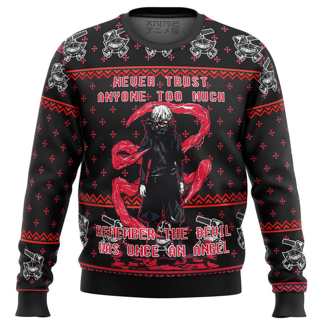 Tokyo Ghoul Trust Premium Ugly Christmas Sweater