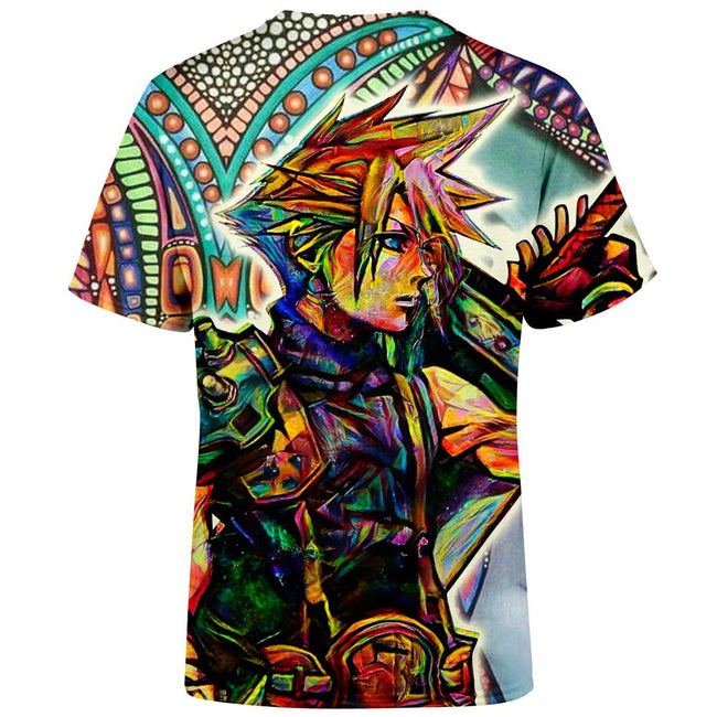 Trippy Cloud Final Fantasy VII T-Shirt