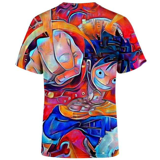 Trippy Luffy One Piece T-Shirt