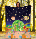 Trippy Morty Joe Exotic Blanket