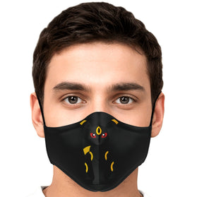 Umbreon Pokémon Premium Carbon Filter Face Mask