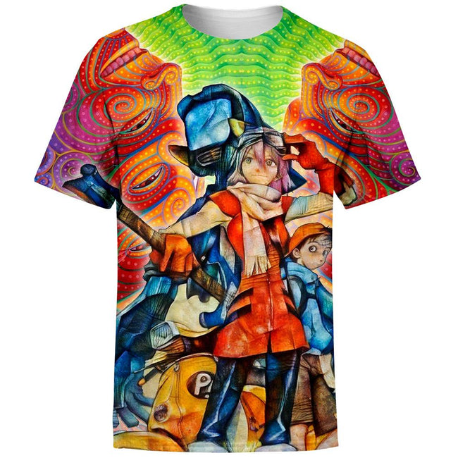Vibing FLCL Fooly Cooly T-Shirt