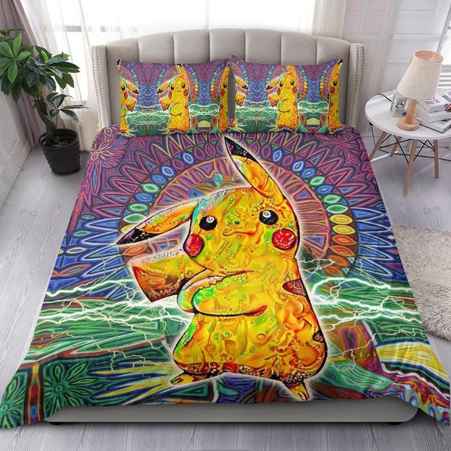 Vibing Pikachu Bedding Set