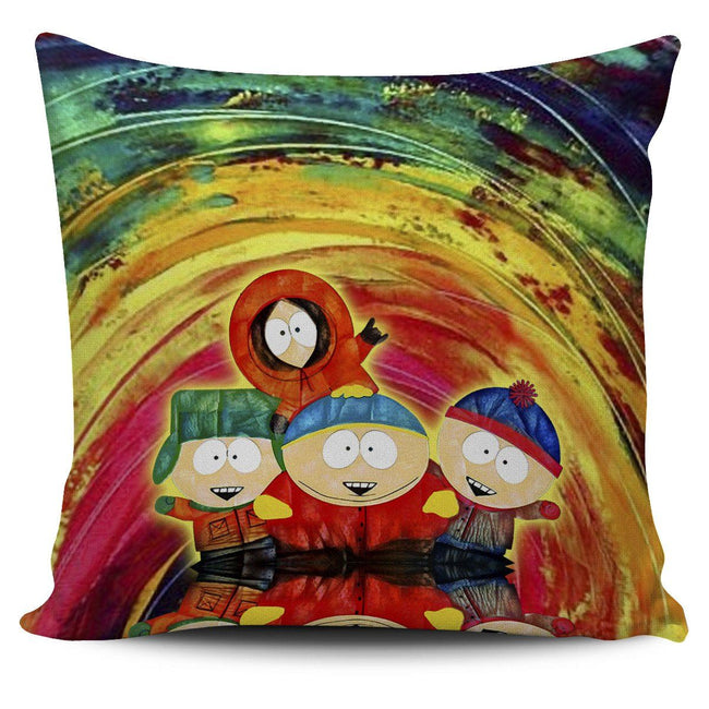 Vibing Southpark Pillow Cover