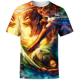 Vibrant Attack on Titan T-Shirt