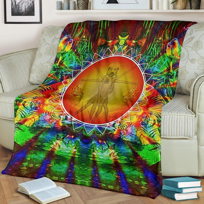 Vitruvian Joe Exotic Blanket