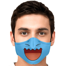Wobbuffet Pokémon Premium Carbon Filter Face Mask
