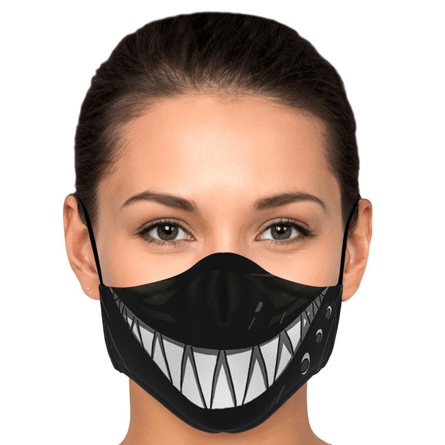 Zora Smile Black Clover Premium Carbon Filter Face Mask