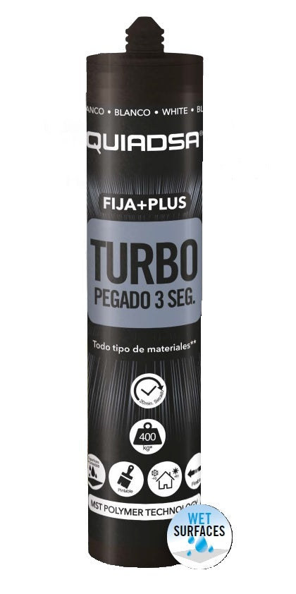 FIJA+PLUS TURBO Exceptional Adhesion on many, many materials