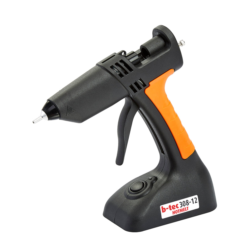 B-Tec 308-12 Cordless 12mm Glue gun (gun only, battery not included)