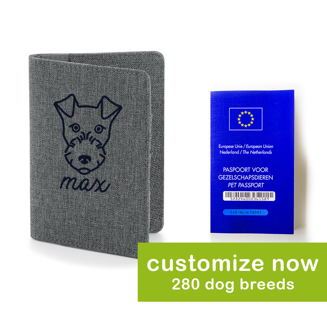 LikeWoof Basic Passport Cover - likewoof