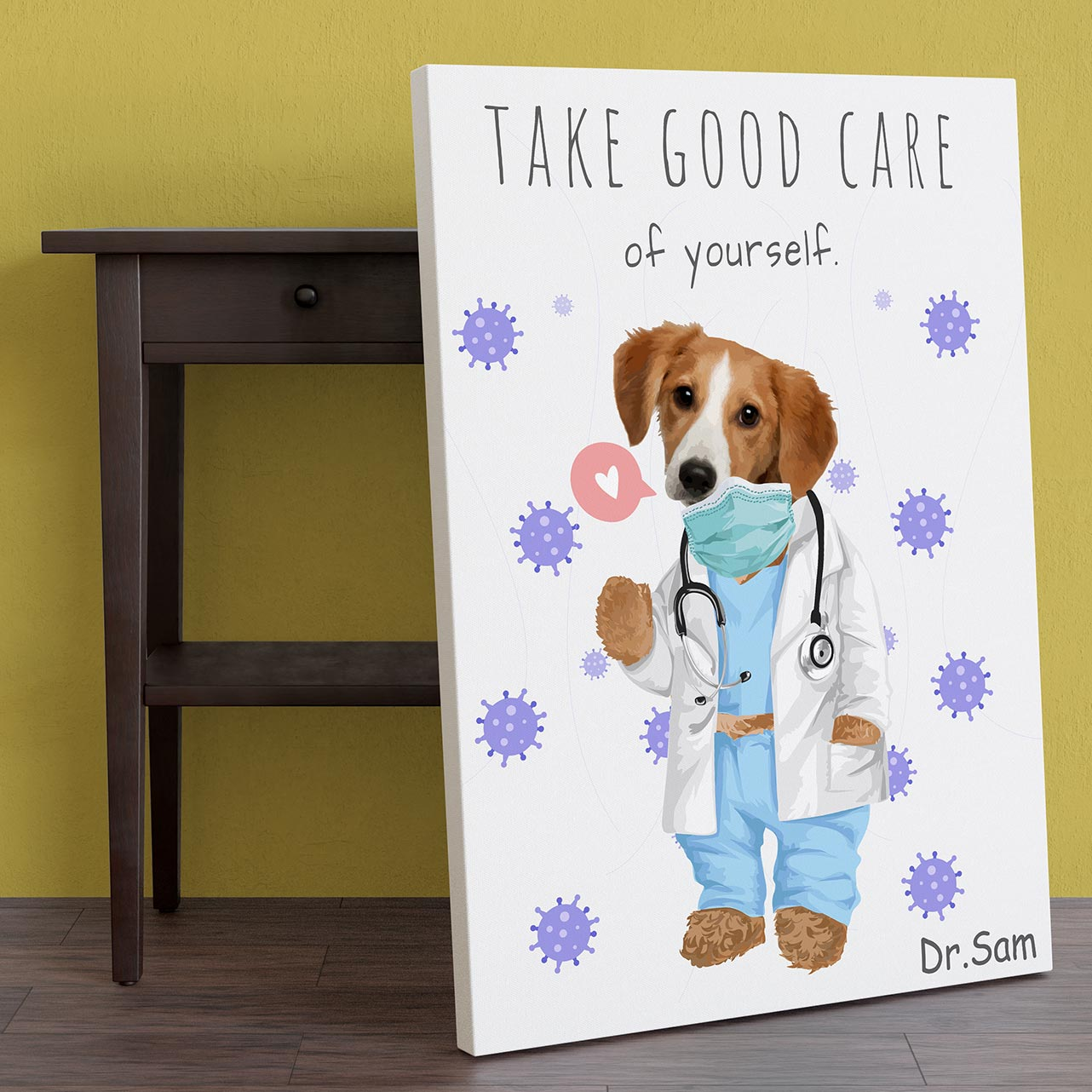 LikeWoof DOGtor Poster - likewoof