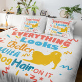 LikeWoof WoofHair Duvet Cover - likewoof