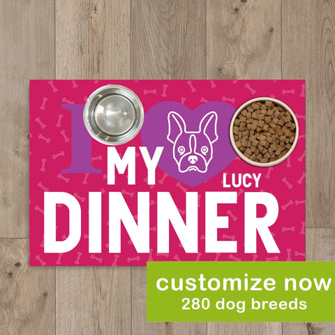LikeWoof DinnerLove Placemat - likewoof