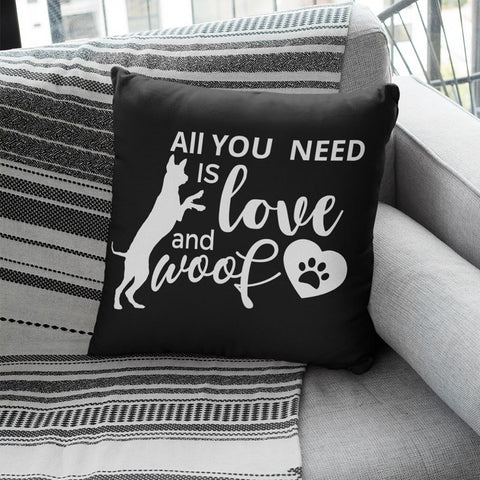 LikeWoof Love & Woof Pillow - likewoof
