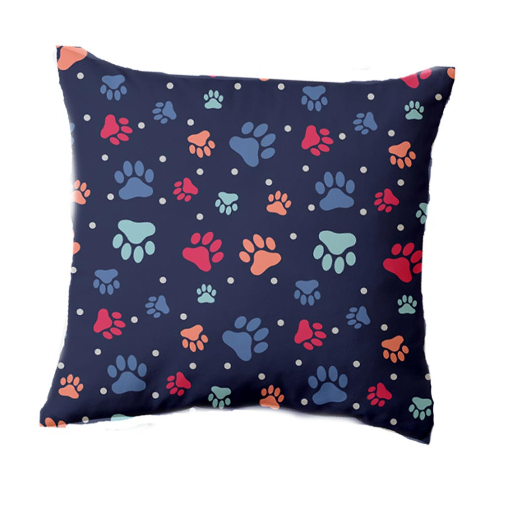 LikeWoof PawPrints Pillow - likewoof