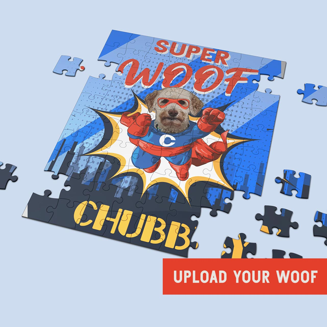 LikeWoof SuperWoof DoggyBoy Puzzle - likewoof
