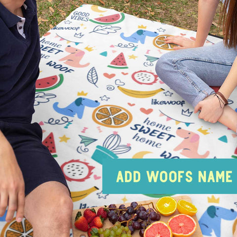 LikeWoof SummerWoof Picnic Blanket - likewoof