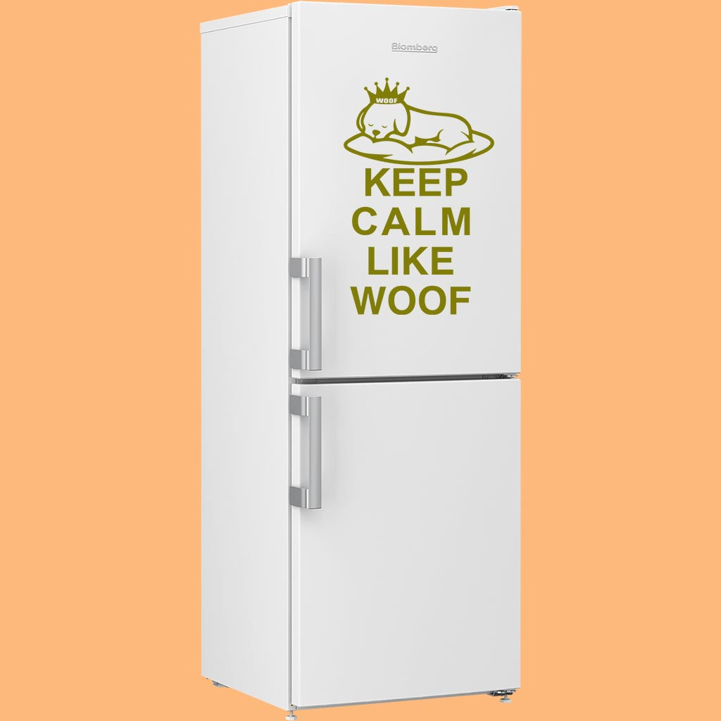LikeWoof KeepCalm Sticker - likewoof