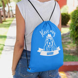 LikeWoof COCKER SPANIEL Drawstring Bag - likewoof