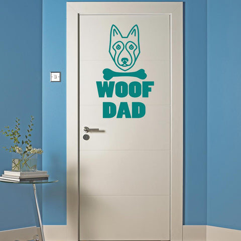 LikeWoof WoofDad Sticker - likewoof