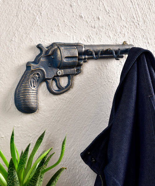 Hand Gun Design Wall Hook