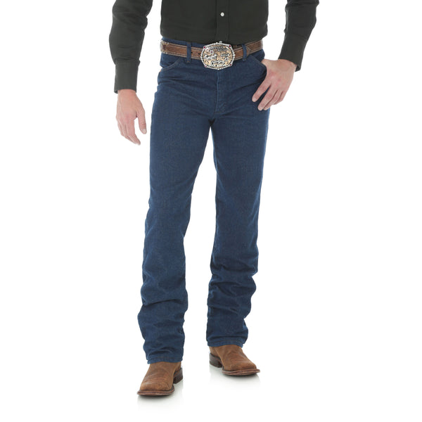 Cowboy Cut Slim Fit Jean Prewashed Indigo