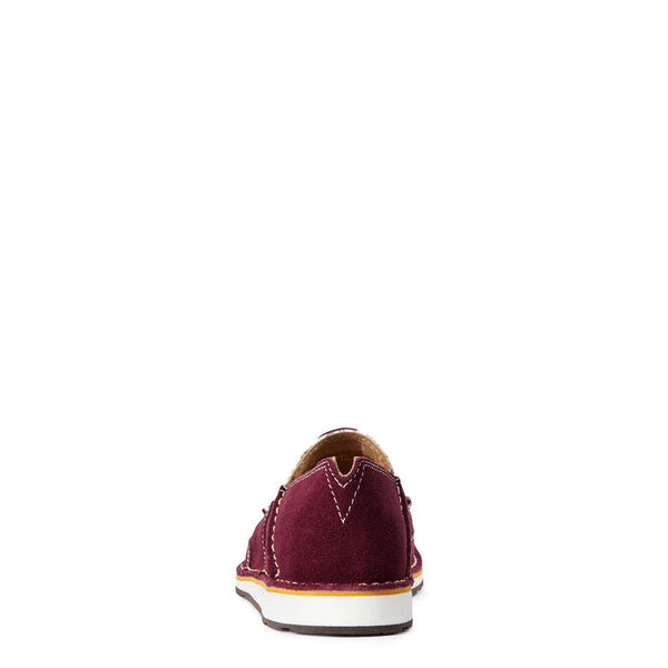 Burgundy Suede Cruiser
