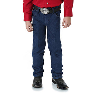 Wrangler Prewashed Cowboy Cut Original Fit Boy's Jean