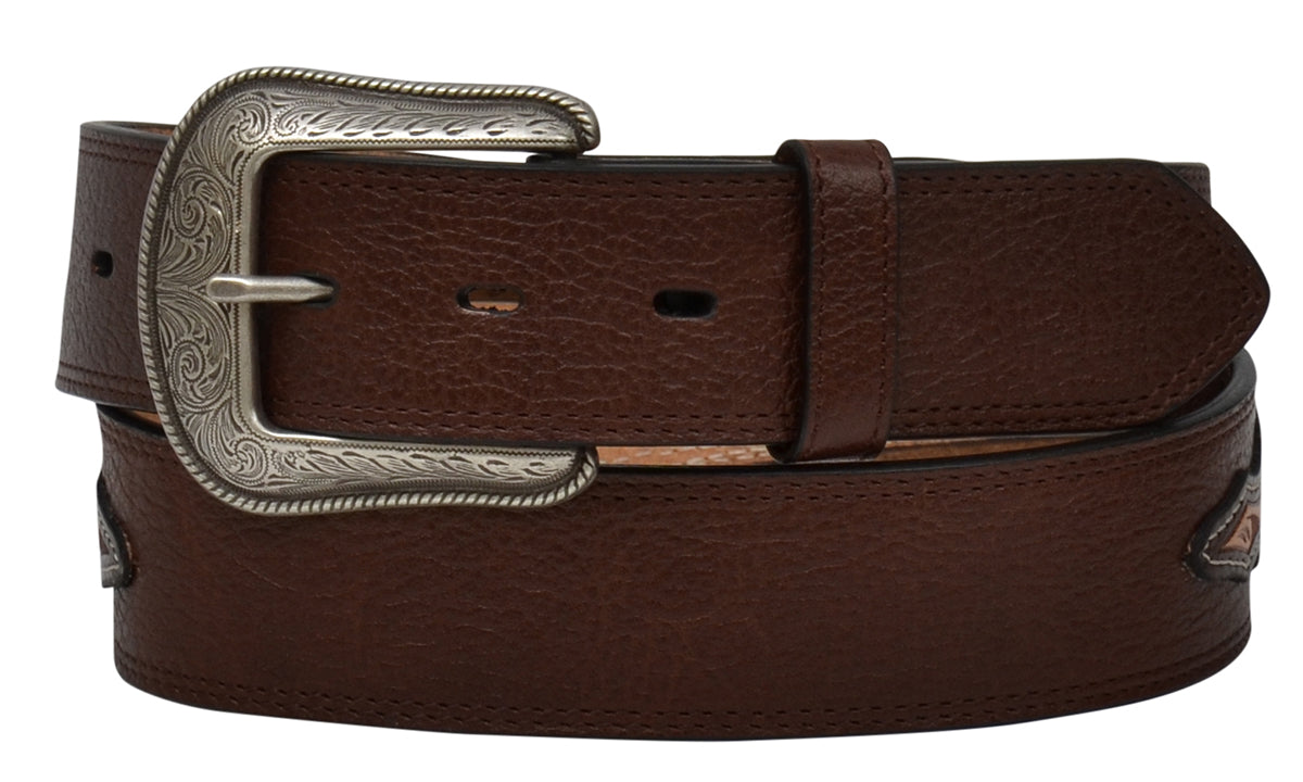 "1 1/2"" Men's Belt Medium Brown"