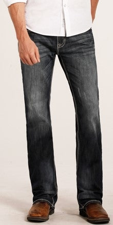Rock and Roll Pistol Regular Fit Straight Leg Reflex Jeans