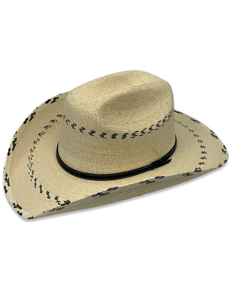 Pinto Black Kids Straw Hat
