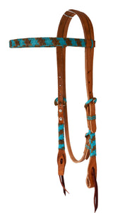 Headstall Turquoise Braiding