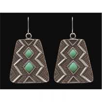 LoulaBelle Aztec Turquoise Earring