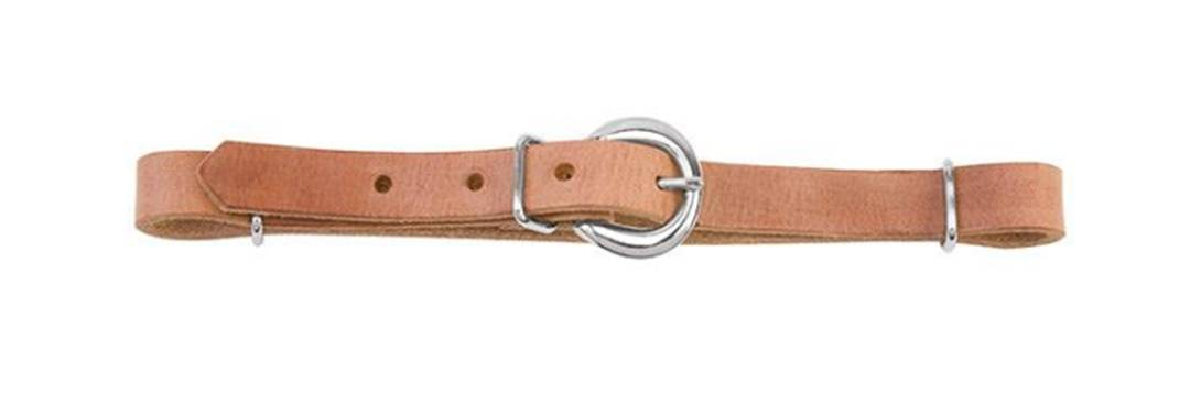 Straight Harness Leather Curb Strap