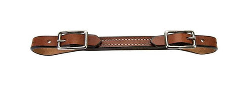 Flat Bridle Leather Curb Strap