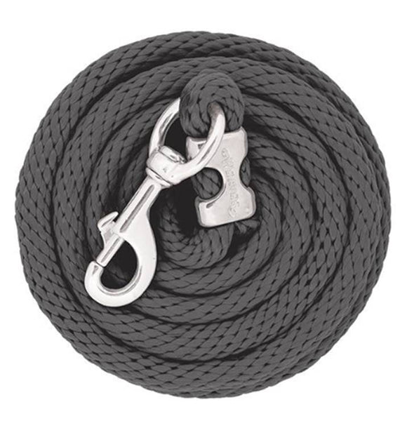 Poly Lead Rope with Chrome Brass Snap