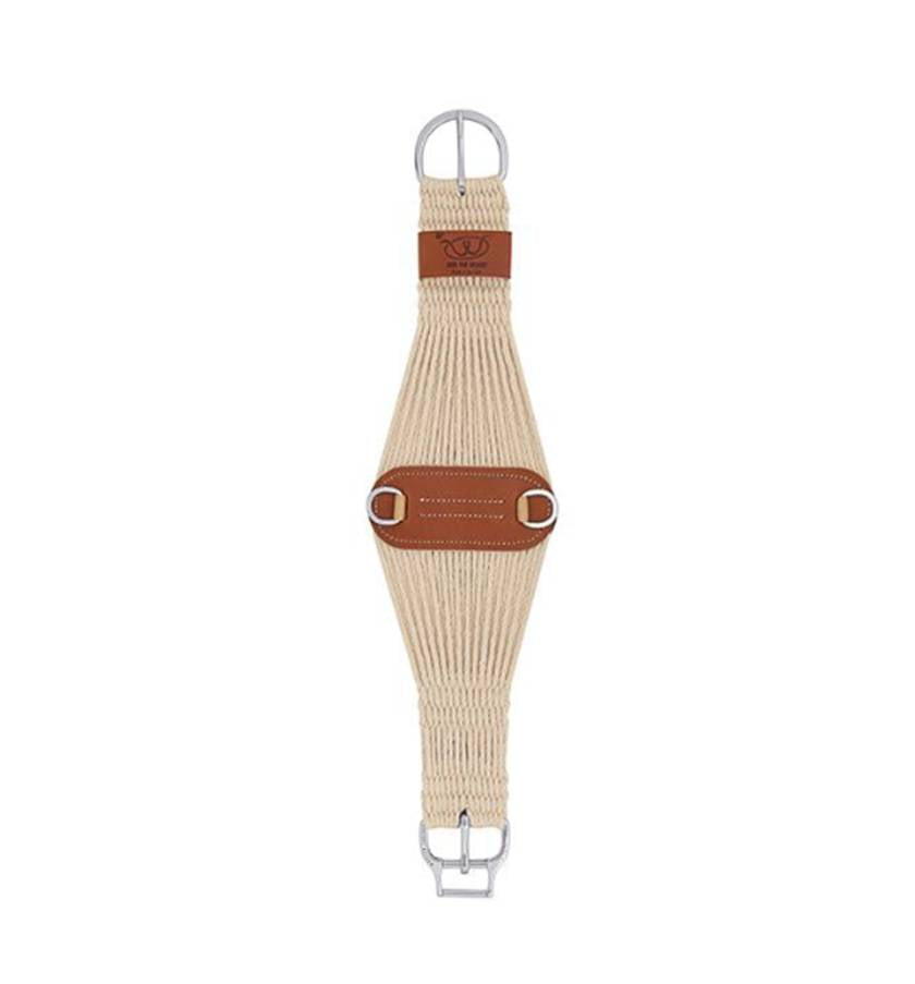 Natural Blend 27 Strand Roper Smart Cinch with Roll Snug Cinch Buckle