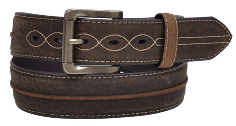 Dark Brown Men's Belt