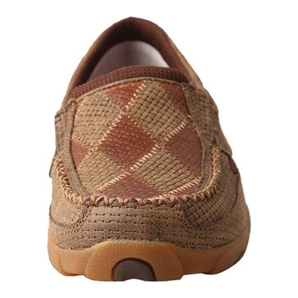 Women's Slip On Bomber/Tawny Patches