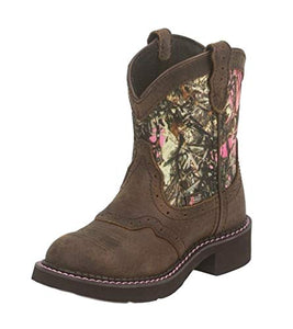 Kids Aged Bark Pink Camo Gypsy Boots