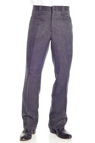 Circle S Heather Charcoal Dress Ranch Pants