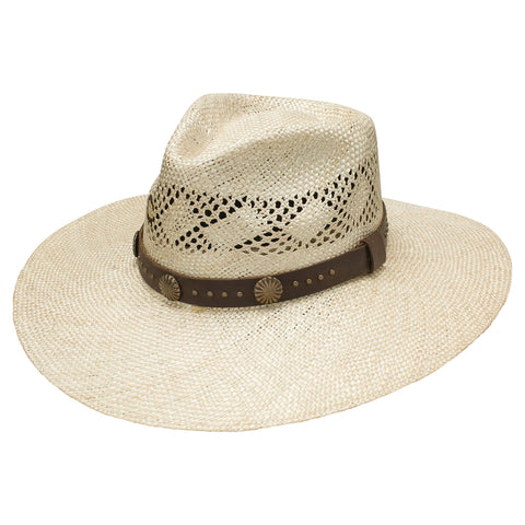 Hair Trigger Charlie 1 Horse Straw Hat