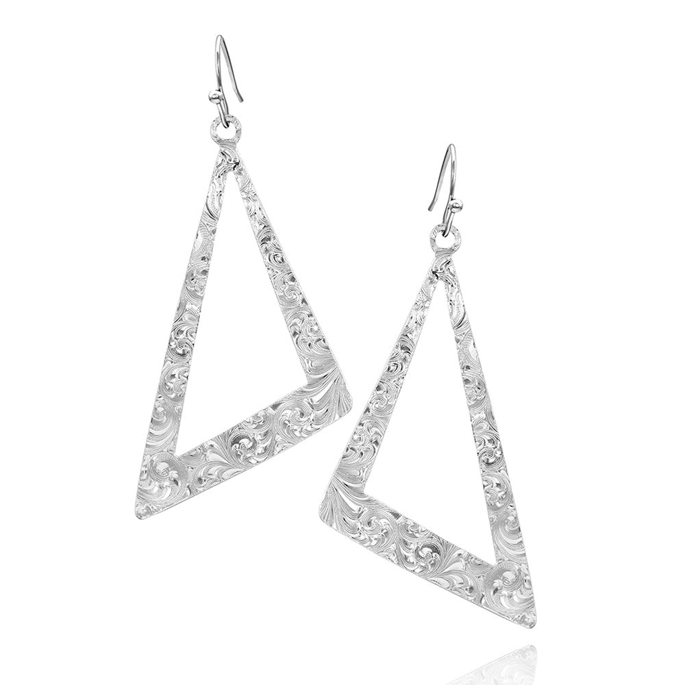 Catch A Glance Asymmetrical Earrings
