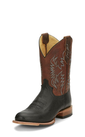 Pearsall Black from Justin Boots George Straight Collection
