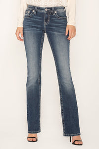 Miss Me Tribal Style Bootcut Jeans
