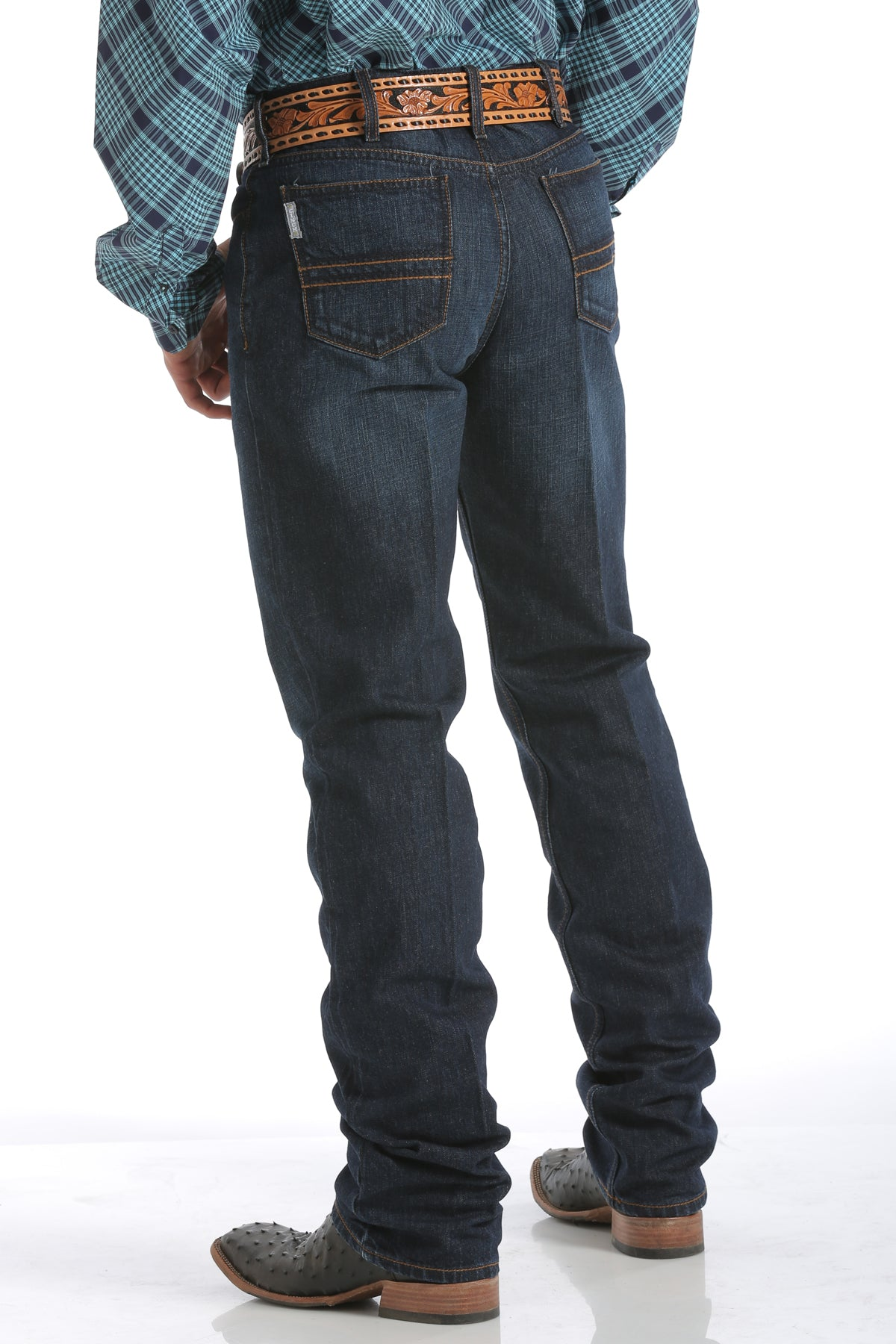 Cinch Men's Silver Label Jeans - Dark Stonewash